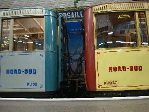 Attraction de ces journées du patrimoine, les voitures Nord-Sud 1ere et 2eme classe, photo Philippe-Enrico Attal