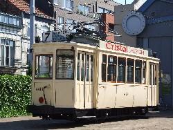 Circulation de matériel ancien pour l'anniversaire des trams de la Côte, photo Christian Scheemaekers