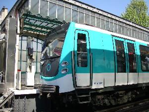 Fruit de la collaboration entre la RATP et Alstom, le MF 01 équipe désormais la ligne 2 du métro parisien, photo Philippe-Enrico Attal