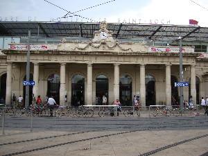 La colonnade de la gare sera préservée, photo Philippe-Enrico Attal