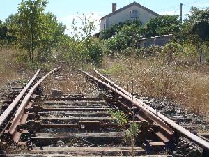 La gare de Courtnonterral sur la future ligne 2 du tram de Montpellier-Philippe-Enrico-Attal