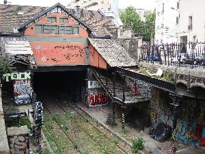 La gare de Saint-Ouen est fermée aux voyageurs depuis 1934, photo Philippe-Enrico Attal