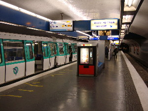 La ligne 13, ici à la station Invalides est une priorité pour la RATP, photo Philippe-Enrico Attal
