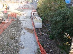L'ancien quai Auteuil de Pont Cardinet a disparu sous les travaux, photo Philippe-Enrico Attal