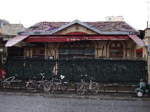 L'ancienne gare de Charonne-Ceinture      (photo Philippe-Enrico Attal)