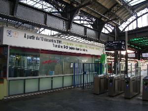 Le cadencement annoncé Gare de l'Est, photo Philippe-Enrico Attal