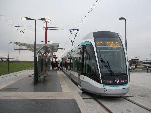 Le terminus du T7 à Porte-de-l'Essonne photo Philippe-Enrico Attal
