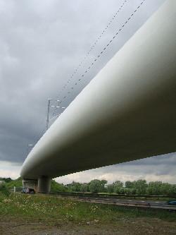Le viaduc de la nouvelle ligne 25N, photo Philippe-Enrico Attal