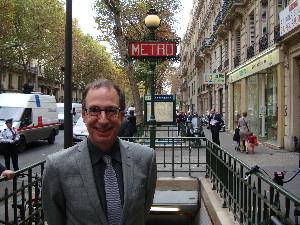 Michel Labrèque a fait le déplacement à Paris pour l'inauguration, phto Philippe-Enrico Attal