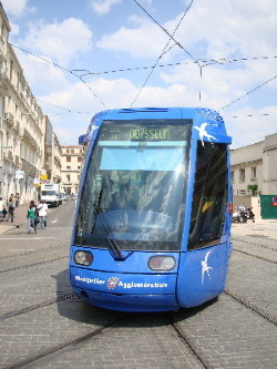 A Montpellier, la ligne 1 sera prolongée au nord, pour rencontrer la ligne 3, photo Philippe-Enrico Attal