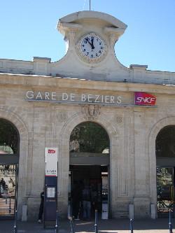 Une nouvelle gare sur la LGV serait créée à Béziers, photo Philippe-Enrico Attal